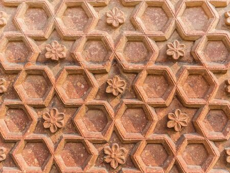 agra: Details of the red fort in Agra