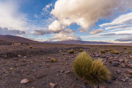 altiplano: awesome scenery in the bolivian altiplano Stock Photo