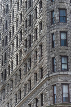 taxi famous building: visiting the flat iron building
