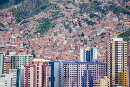 murillo: View over La Paz