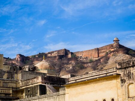 amber fort: The amber fort in Jaipur