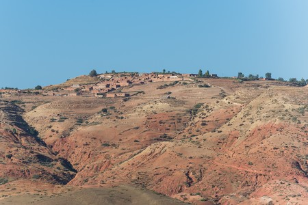 casbah: in the high atlas mountains of morocco