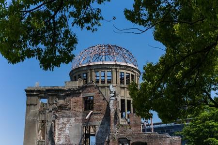 bombe atomique: Memorial Park à Hiroshima, au Japon Éditoriale