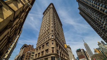 visiting the flat iron building