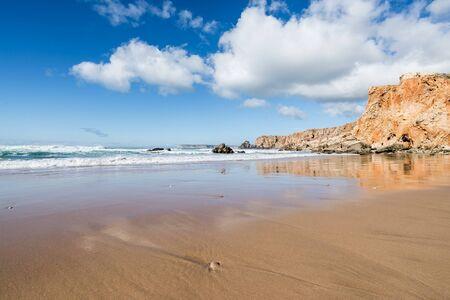 a beach in sagres portugal
