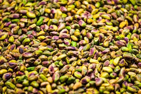 mise au point sélective de pistaches