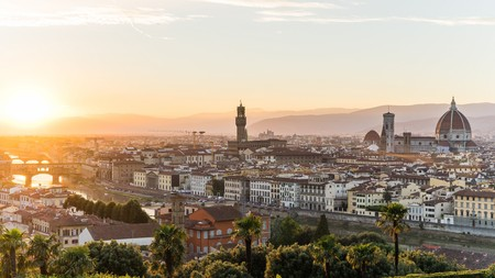 michelangelo: View over Florence from Piazzale Michelangelo