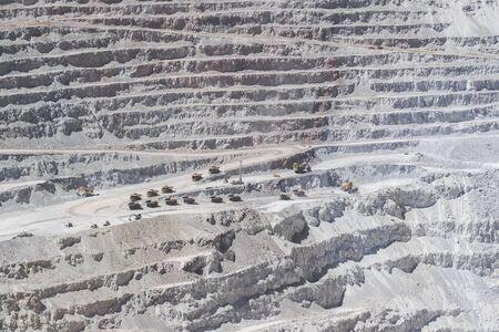 Big copper mine in northern Chile