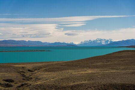 Lago Argentino in Argentina Stock Photo