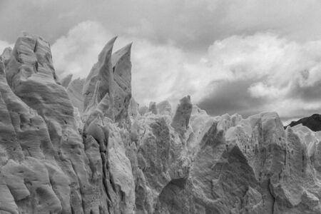 Stunning perito moreno glacier in argentina Stock Photo