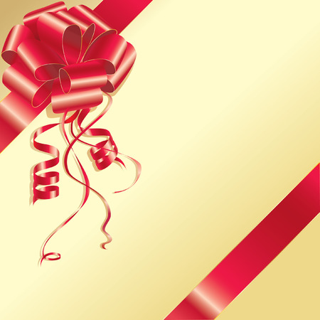Background for your text and needs with a beautiful gift red bow