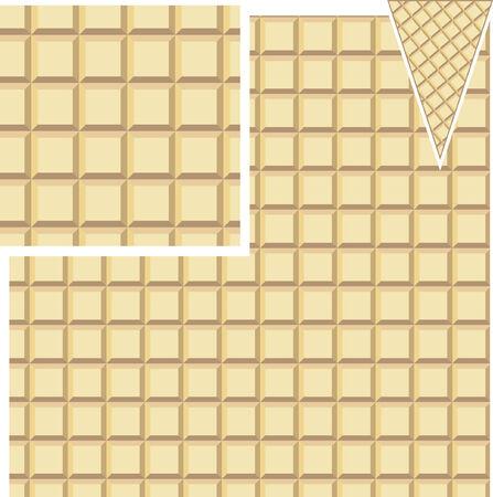 gofre: patr�n de waffle transparente para sus necesidades y uso Vectores