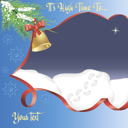 holiday background for your use and needs with conceptual meaning and place for your text Vector