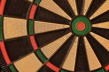 Dartboard Detail Reklamní fotografie