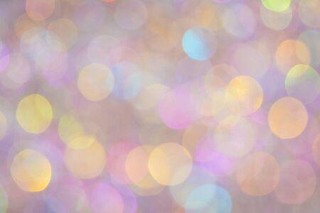 Abstract glitter bokeh background Stock Photo