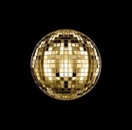 3D rendering of disco ball