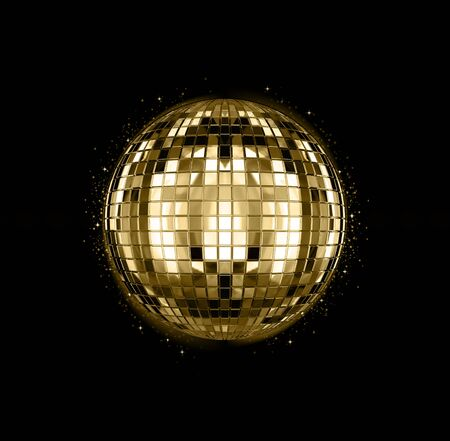 3D rendering of disco ball