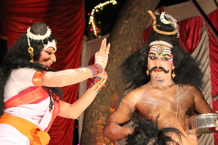 karnataka culture: Yakshagana  Cultural Heritage of Karnataka Editorial