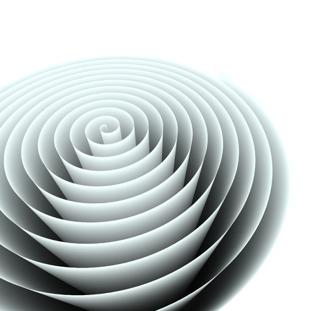 roll of paper: Abstract spiral background,