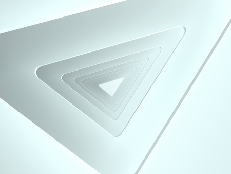 Abstract architecture triangle background photo