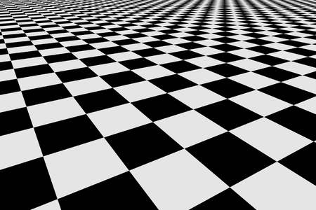 checker: Abstract checker background. 3d image Stock Photo