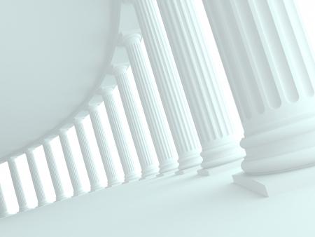 columnas romanas: Arquitectura
