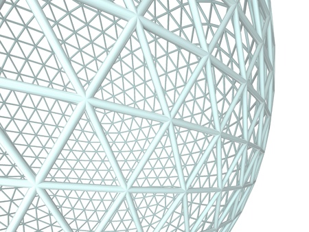 3d sphere. Abstract background photo