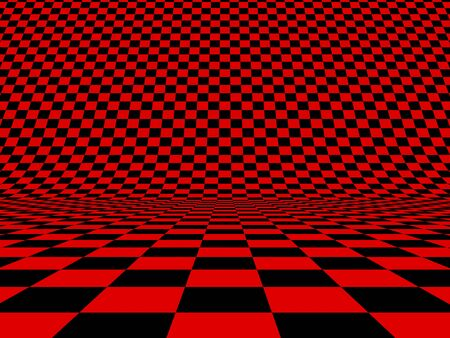 Abstract checker background. 3d image Stock Photo - 11911539