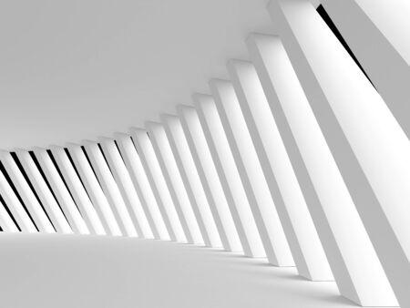 Abstracte architectonische achtergrond. 3d teruggegeven beeld