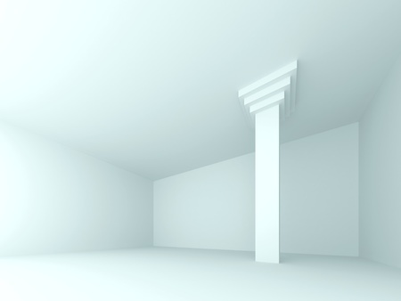 Abstract interior. 3d rendered image Stock Photo - 11960359