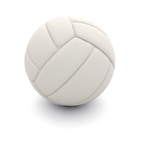 beach volleyball: Isolated volleyball ball