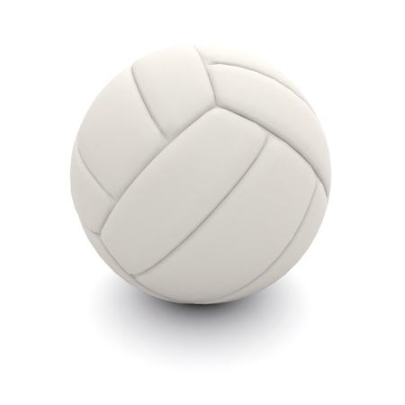 pallavolo: Isolato pallavolo pallone