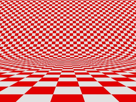 Abstract checker background. 3d image photo