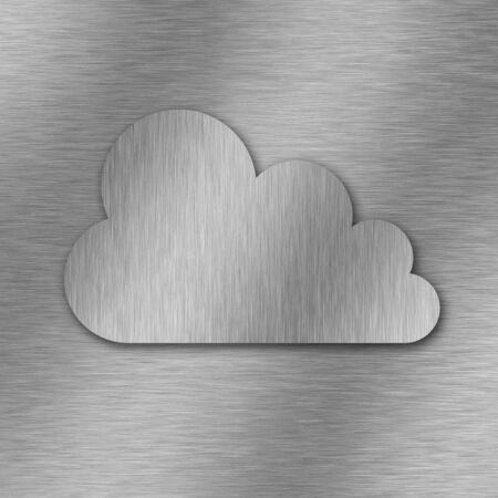 network connection plug: Cloud computing technology background  3d rendered image Stock Photo
