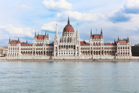 capital building: Hungary capital, Budapest. The building of the Hungarian Parliament