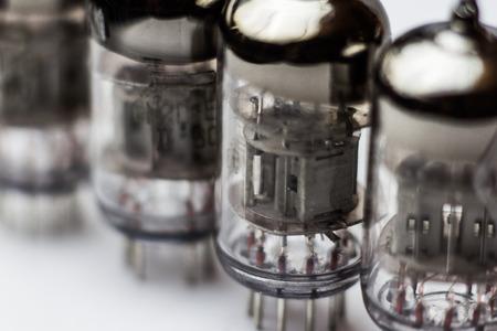 Vintage electronic vacuum amplification triode