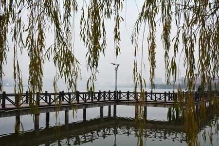 trestle: Trestle waterway Stock Photo