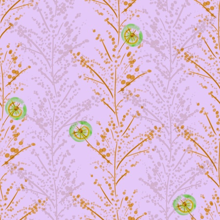Vivid repeat floral - For easy making seamless pattern use it for filling any contours  Stock Photo - 18132570
