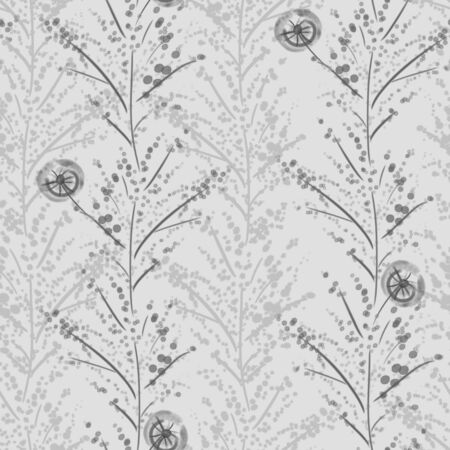 Vivid repeat floral - For easy making seamless pattern use it for filling any contours
