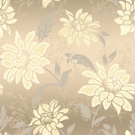 Vivid repeating floral - For easy making seamless pattern use it for filling any contours  Stock Photo - 19979564