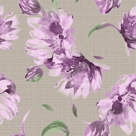 Vivid repeating floral - For easy making seamless pattern use it for filling any contours  Zdjęcie Seryjne