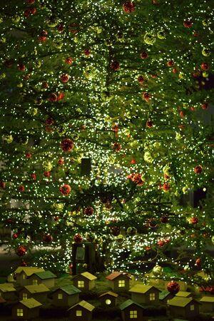Large Illuminated Christmas Tree Decoration