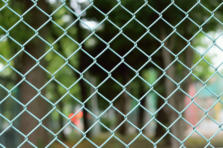 metalic texture: Texture Wired fence in natural background