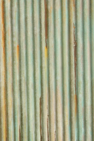 Texture of metallic old rusted iron sheet