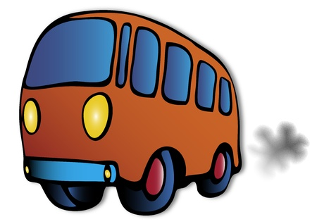 bus illustration Vector