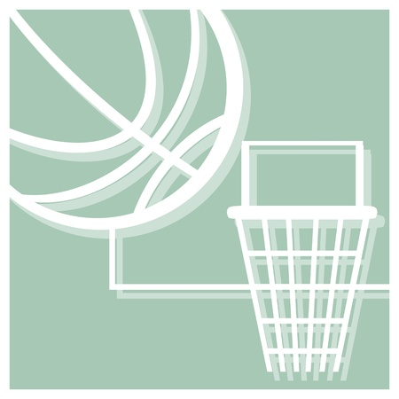 basketball vector pictogram Vector