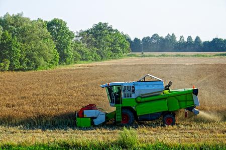 combine-harvester Wislinka