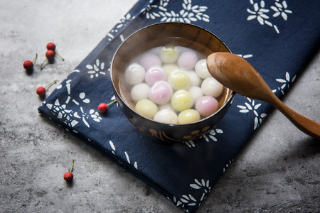 Traditional chinese Glutinous Rice Balls