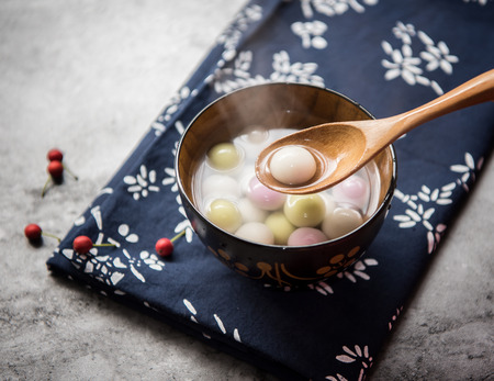 Traditional chinese Glutinous Rice Balls 스톡 콘텐츠 - 115074273