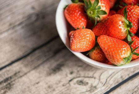Fresh fruit strawberry